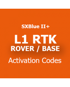 L1 RTK ROVER and BASE Activation Code
